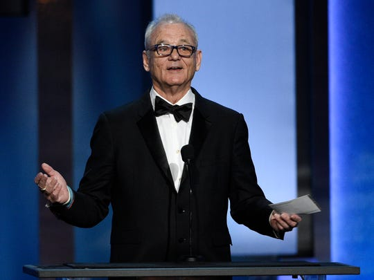 Bill Murray showed up for George Clooney at his AFI