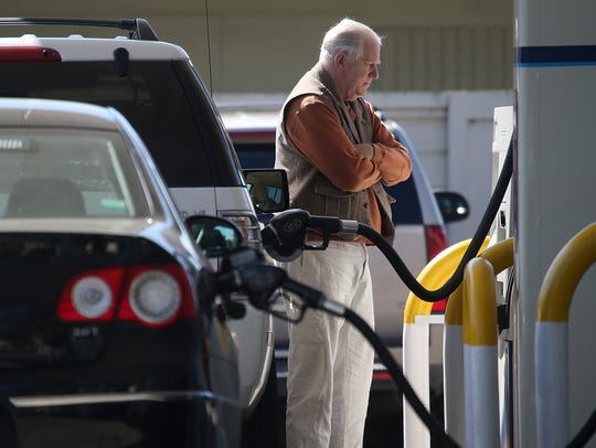 Missouri voters on Nov. 6 voted down a proposed 10-cent gasoline tax increase.