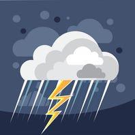 Rain in local forecast