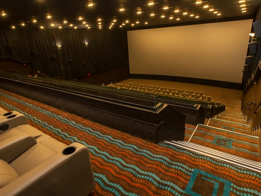 All seats inside the AMC Stones River 9 include reclining seats.