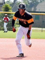 Northville's Michael Lionas, who went 3-for-4 with