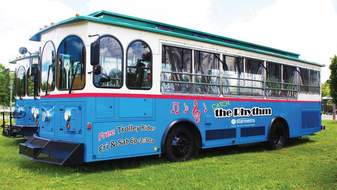 Two Rhythm Route trolleys will begin running this weekend.