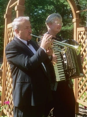 Lou and Jan Borelli offer serenade packages that can be performed at safe social distances.