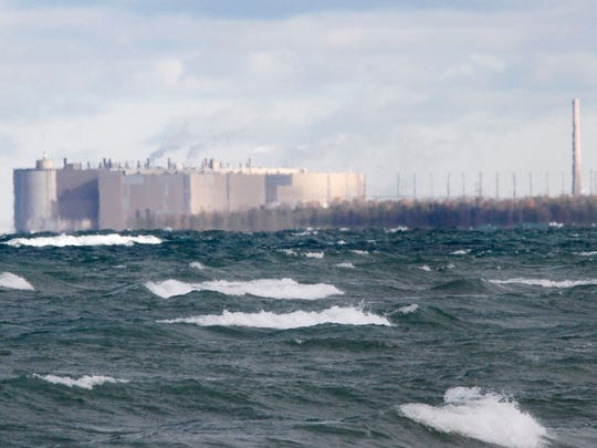 The Ontario Power Generation's Bruce nuclear facility.