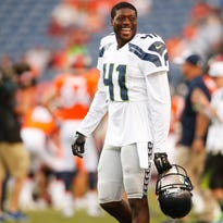 Cornerback Byron Maxwell played with the Seahawks in the last two Super Bowls.
