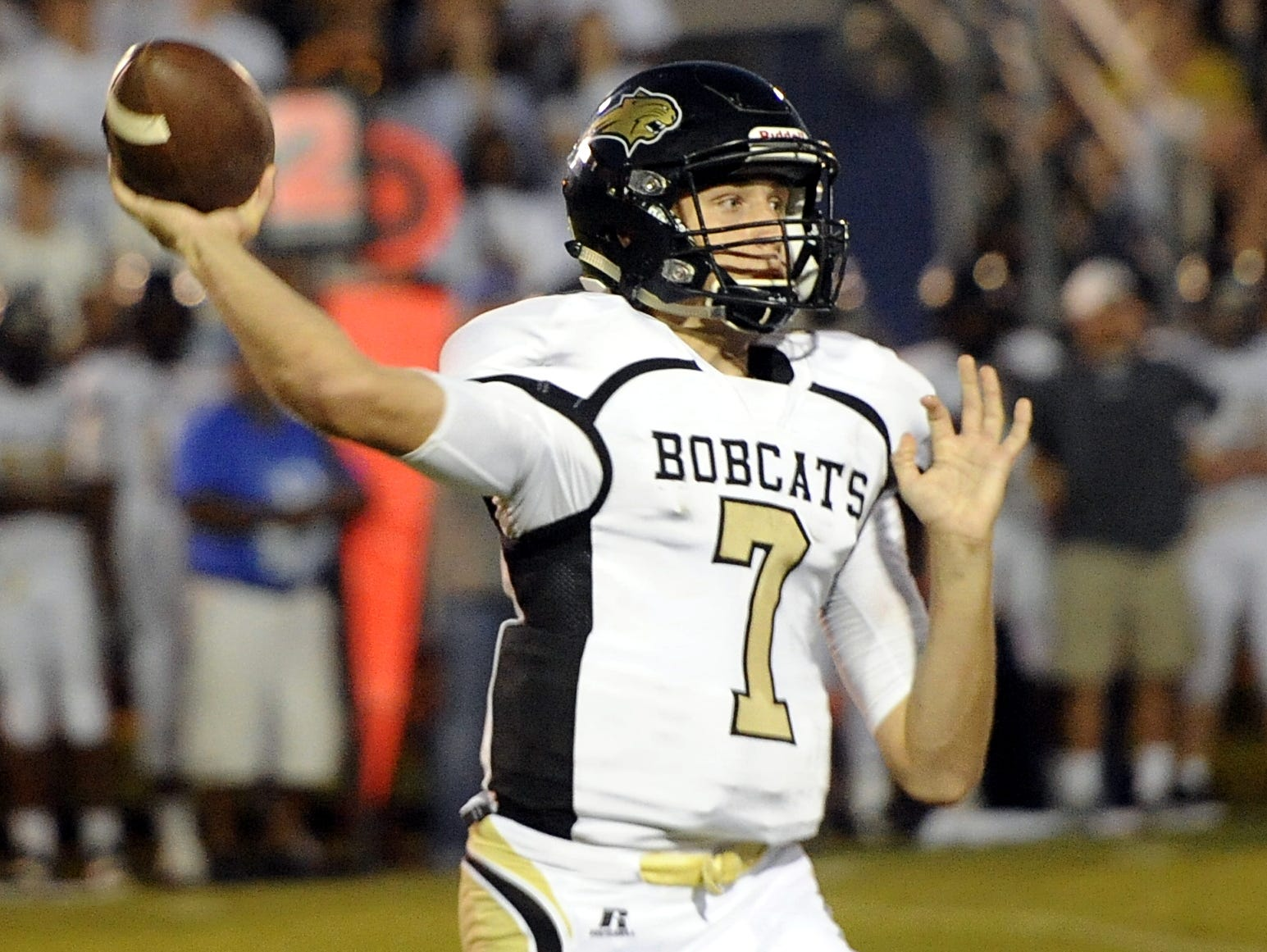 Giles County junior quarterback John Bachus