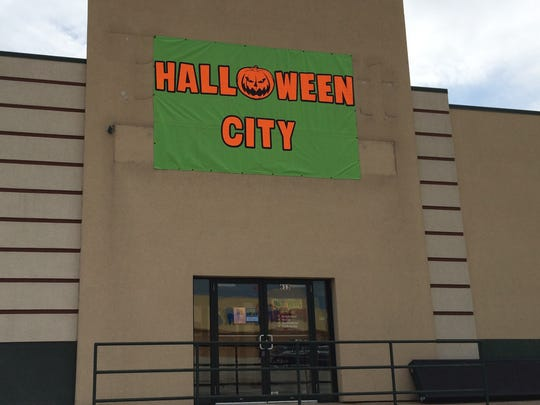 Halloween City is getting set up in the former Bassett Furniture store in Grand Chute.