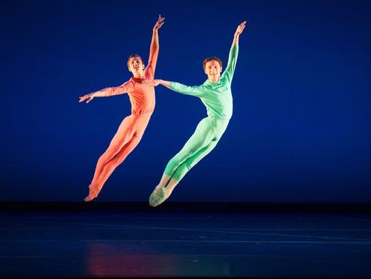 Members of the American Ballet Theatre Studio Company