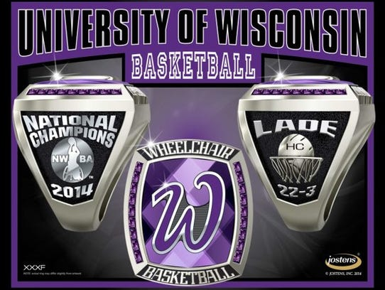 UW-Whitewater 2014 men's wheelchair basketball championship