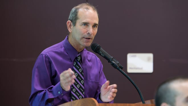 Lakeview Superintendent Dave Peterson.