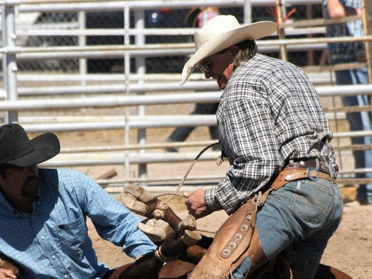 The Ranch Rodeo at the Southwestern New Mexico State