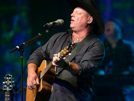 John Michael Montgomery performs June 26, 2014, in Sevierville, Tenn.