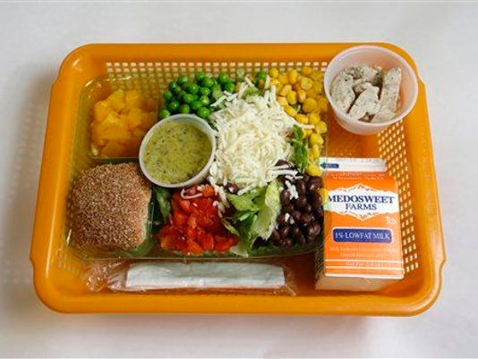 Kid gets detention for sharing his lunch at school