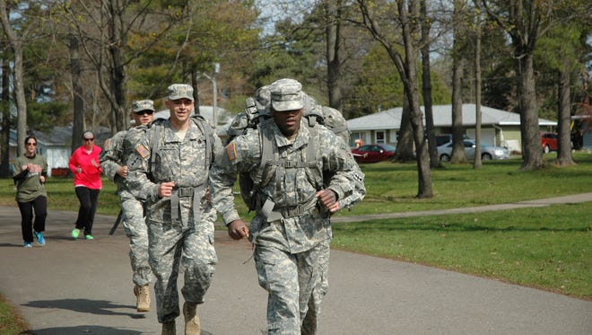 A look at last year's Salute a Soldier 5K run/walk.