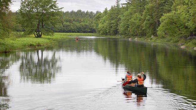 Canoeing in one of many outdoors activities available in the Southern Tier.