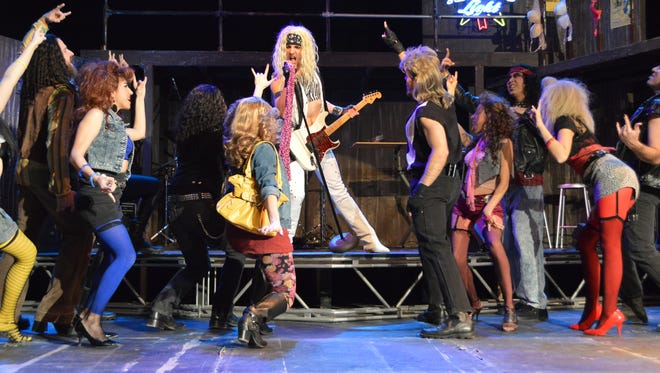 "The Tony Award-nominated musical ""Rock of Ages"" is set to take the UTEP Dinner Theatre stage Friday."