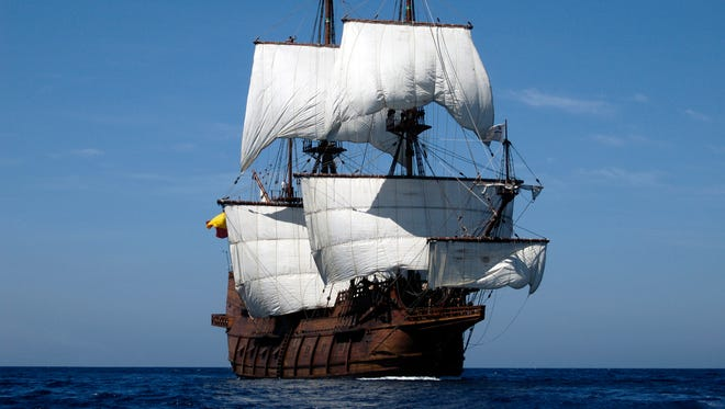 Spanish sailing vessel El Galeon is among the ships that will be at the Tall Ship Festival Aug. 5-7 in Green Bay.