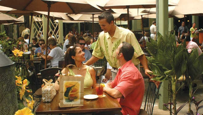 Share some tropical taste treats at Tommy Bahama on Third Street South in Naples.