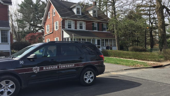 Radnor Township police investigate a slaying-suicide that took place Monday night.