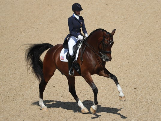 Olympics: Equestrian-Dressage Individual Grand Prix Freestyle