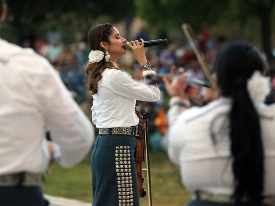 Mariachi Alegre will perform June 30 at Music Under the Stars at the Chamizal National Memorial.