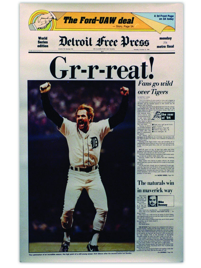 Myers After 32 Years Freep Sports Editor Remembers Much