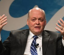 New Ford President and CEO Jim Hackett says he see...