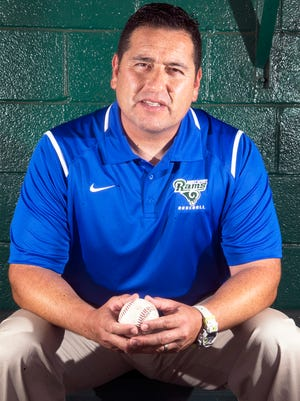 Willie Romo of Montwood High School is the El Paso Times All City prep baseball Coach of the Year.