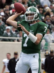 Brian Hoyer, who played for Michigan State for two