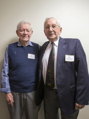 The Math League was founded by William Baxter (left) and William Geppert Jr.