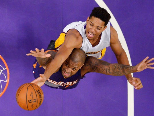 P.J. Tucker, Anthony Brown