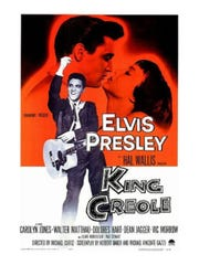 """King Creole"" was Elvis Presley's most critically acclaimed movie. His character had two love interests, neither of which was Walter Mathau, who also appeared in the 1958 film."