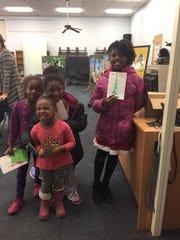 The children had fun at Milanesi School PTO's Holiday