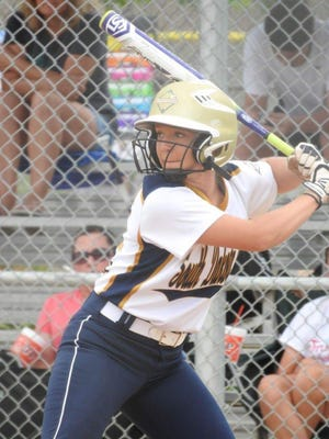 O'Gorman senior Gabbi Holbert went through concussion recovery protocol after taking a pitch to the head.