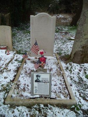 The Billy Fiske Memorial in Boxgrove Priory, Sussex, U.K.