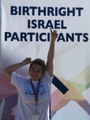"""""""American Idol"""" Season XIV finalist Jax, 22,recently spent 10 days in Israel exploring her heritage as part of Birthright — the rite of passage trip to Israel for young Jewsage 18to 32."""