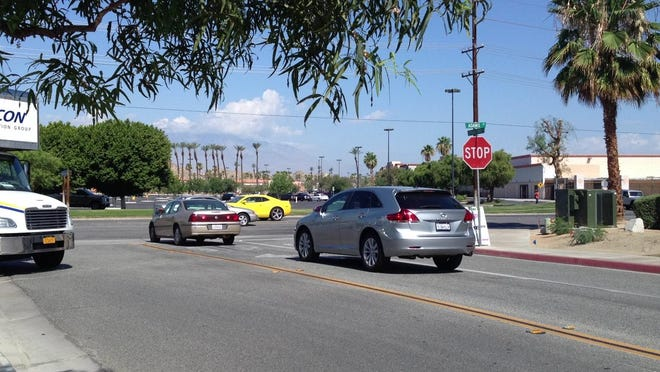 Starting Friday, scheduled utility maintenance at the intersection of South Palm Canyon Drive and East Sunny Dunes Road may cause traffic delays.