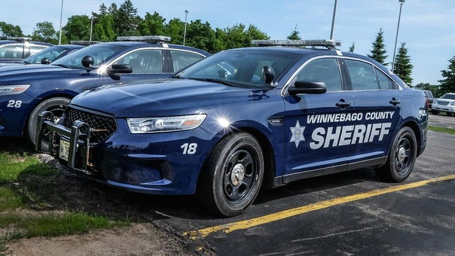 Winnebago County Sheriff's Office squad car