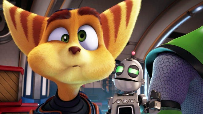 A spunky space cat and his nerdy robot sidekick save the galaxy based on the video game.