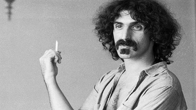 """""""Eat That Question: Frank Zappa in His Own Words"""" is an intimate encounter with the iconoclastic composer and musician."""
