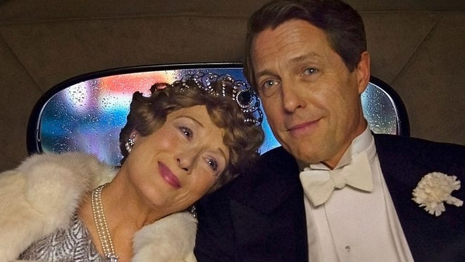 "In 1940s New York, Florence Foster Jenkins (Meryl Streep), a New York heiress and socialite, obsessively pursued her dream of becoming a great singer. The voice she heard in her head was beautiful, but to everyone else it was hilariously awful. Her ""husband"" and manager (Hugh Grant) was determined to protect his beloved Florence from the truth."