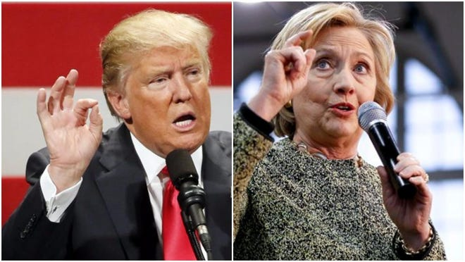 Donald Trump and Hillary Clinton are heading toward showdowns in the presidential debates as the election draws closer.