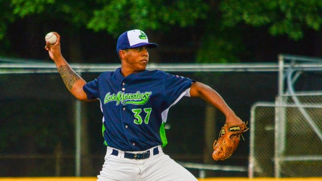 Argenis Blanco pitched six solid innings to lead the Lake Monsters to a 5-2 victory over the Tri-City ValleyCats on Sunday.