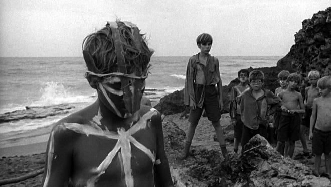 'Lord of the Flies' film screenshot from 1963. (Photo by Continental Distributing)