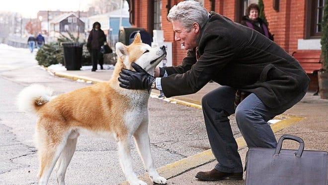 """Hachi, A Dog's Tale,"" featuring Richard Gere, above, based on a true story of the love and devotion between a man and his dog, is the feature film for the Movies with Spirit series, 7 p.m. March 21 at Episcopal Church of the Messiah in Rhinebeck."