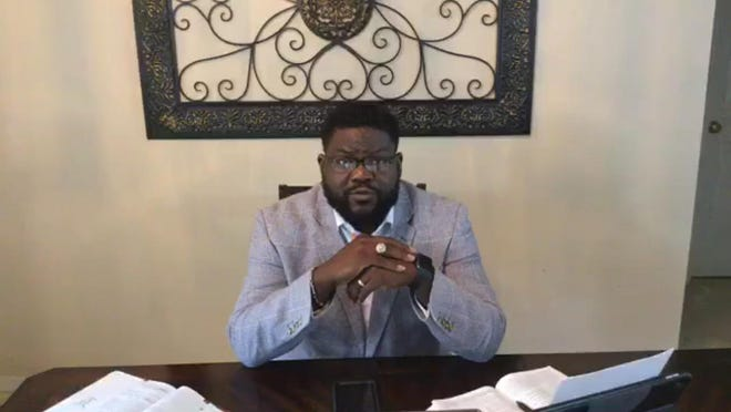 Pastor Duane Gainey of Jerusalem Church of God by Faith delivered the Sunday morning worship sermon for the Gainesville District Church of God by Faith via Facebook Live.
