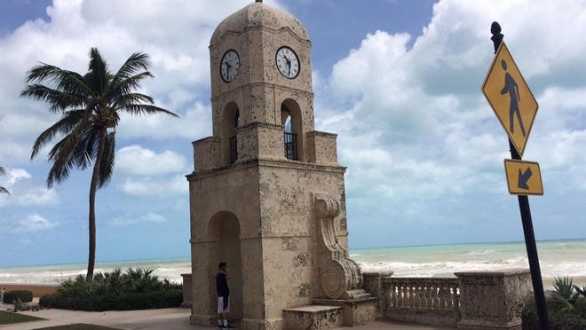 The Worth Avenue clock tower is a popular Palm Beach destination for tourists. A new House bill would limit local laws that regulate vacation rental sites such as Airbnb and VRBO.