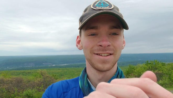 Canton native Jordan D. Conner is walking the Appalachian Trail to raise money and awareness to help people like his grandmother, who suffers from Alzheimer's disease.