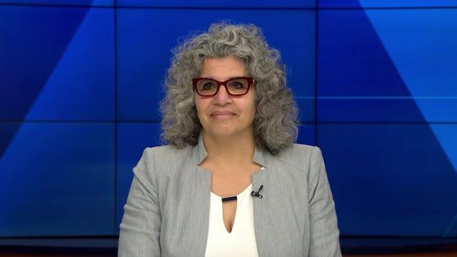 Massachusetts Teachers Association President Merrie Najimy.