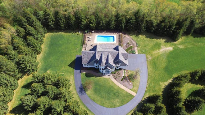 This two-story home at 2181 Carnwell Drive in Belvidere sits 1.35 acres of land south of Swanhills Golf Course. It's for sale for $699,000.